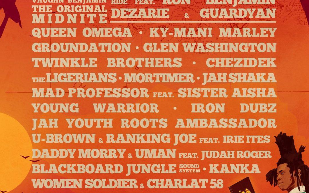Les premiers noms programmés auBagnols Reggae Festival