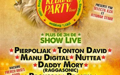Reggae Party Tour Reporté en novembre 2020