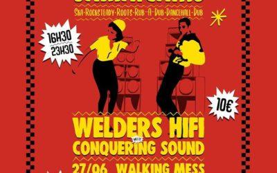 Akwaba: Bal Jamaïcain avec Blaze Sound – Welders – Conquering Sound