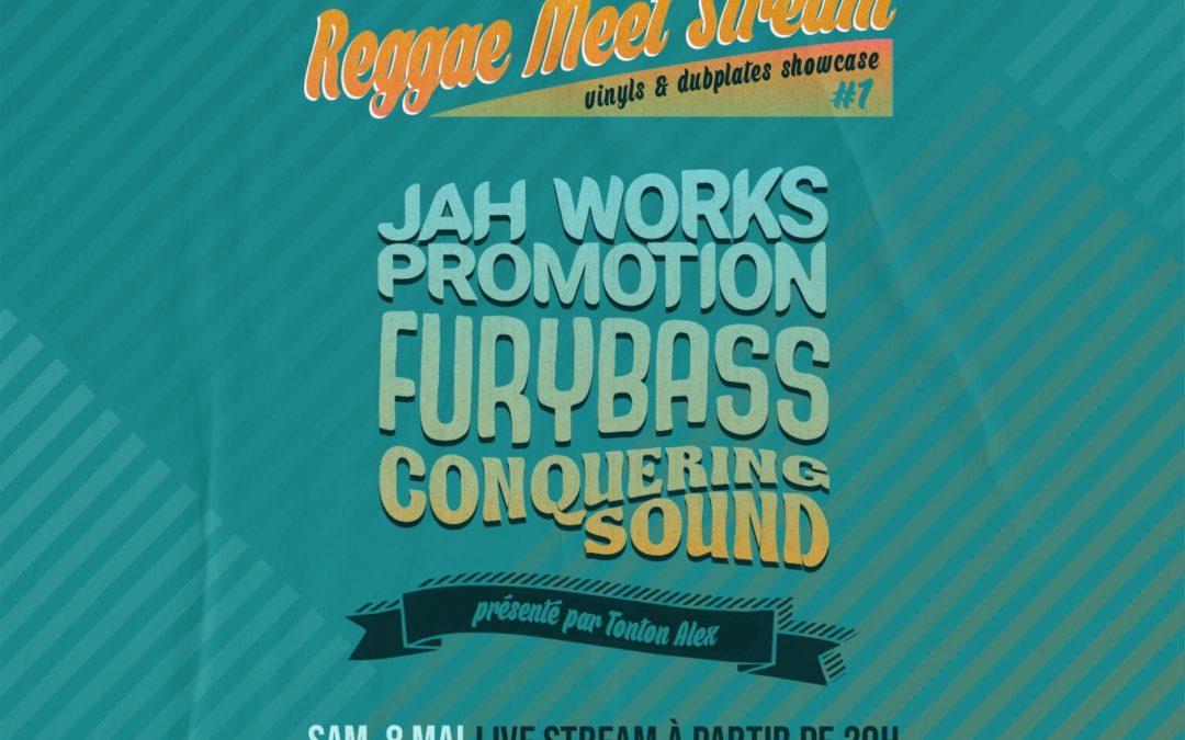 La Moba LiveStream avec Conquering Sound – Furybass et Jah Works Promotion le 8 mai 2021